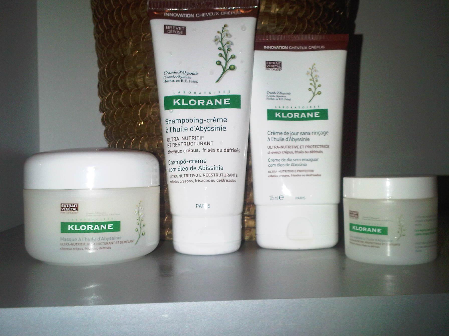 Populaire Beauté Ethnique : Klorane lance une gamme pour cheveux crépus  NE26