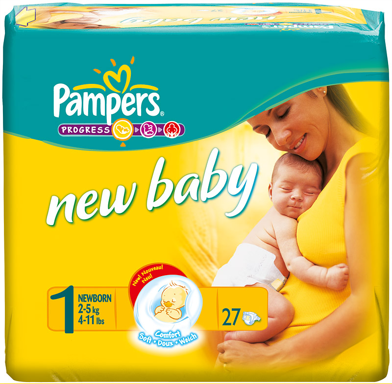 Couche pampers new baby taille 1 - Couches pampers naissance ...