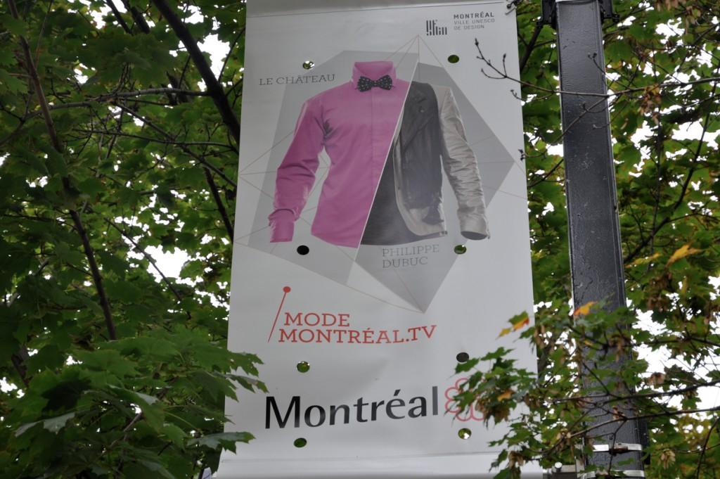 On a aussi découvert qu'à Montréal, ils aiment beaucoup la mode