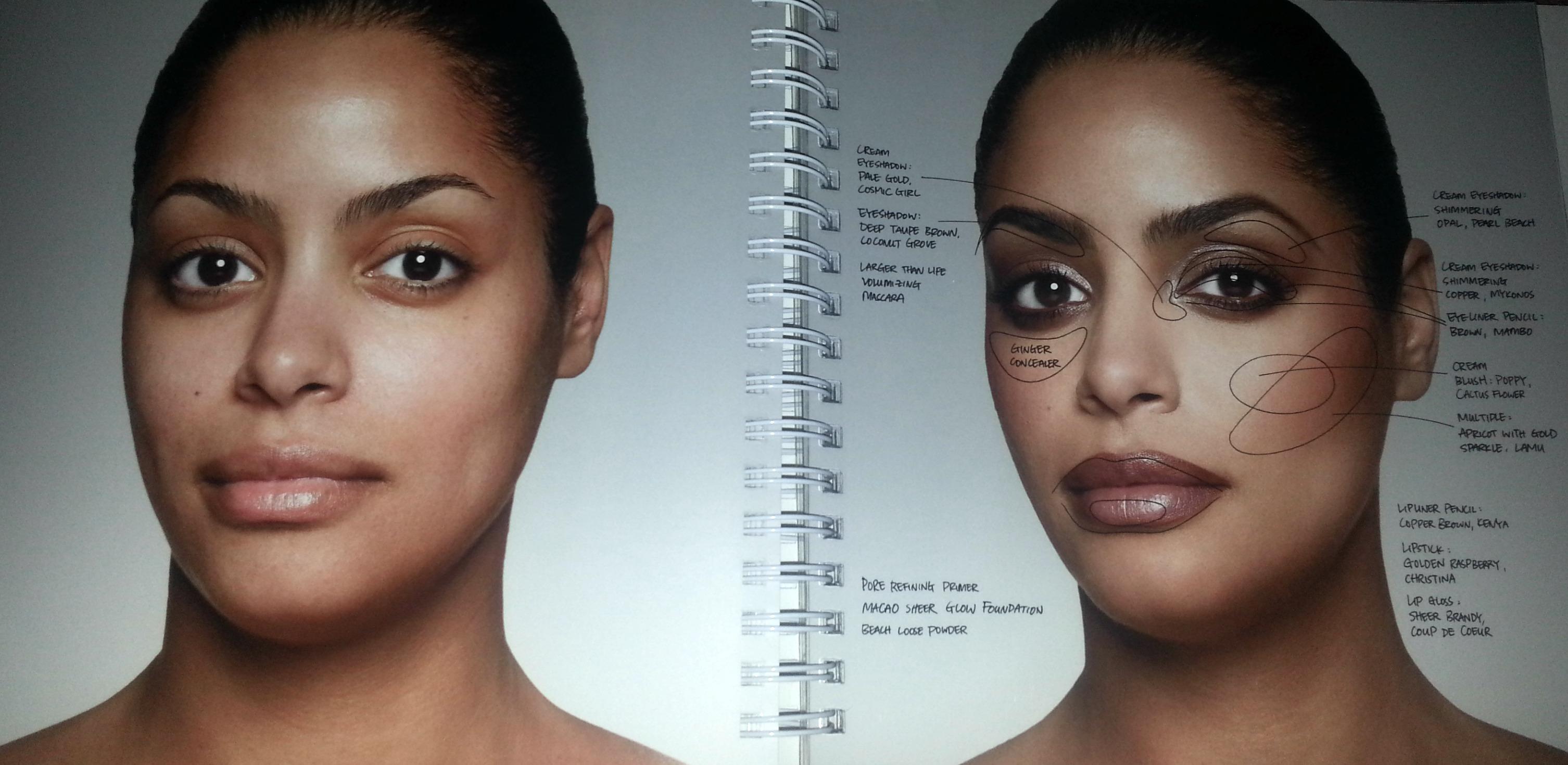 mon livre de maquillage pr f r et mon make up de f te. Black Bedroom Furniture Sets. Home Design Ideas