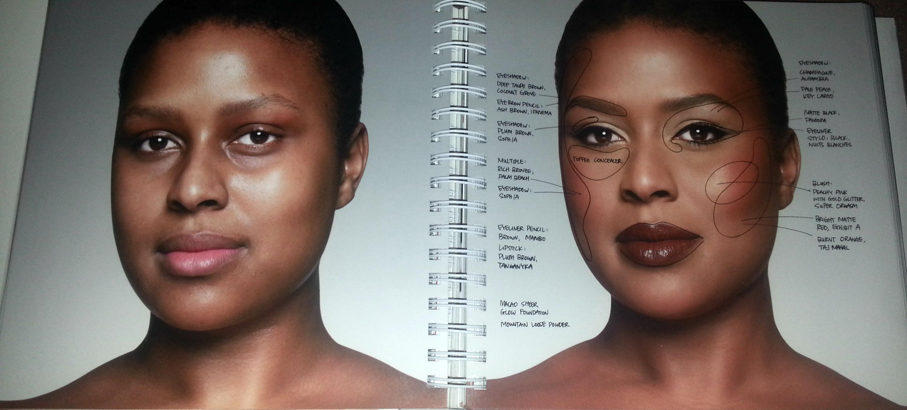 Mon Livre De Maquillage Pr F R Et Mon Make Up De F Te Vivi B