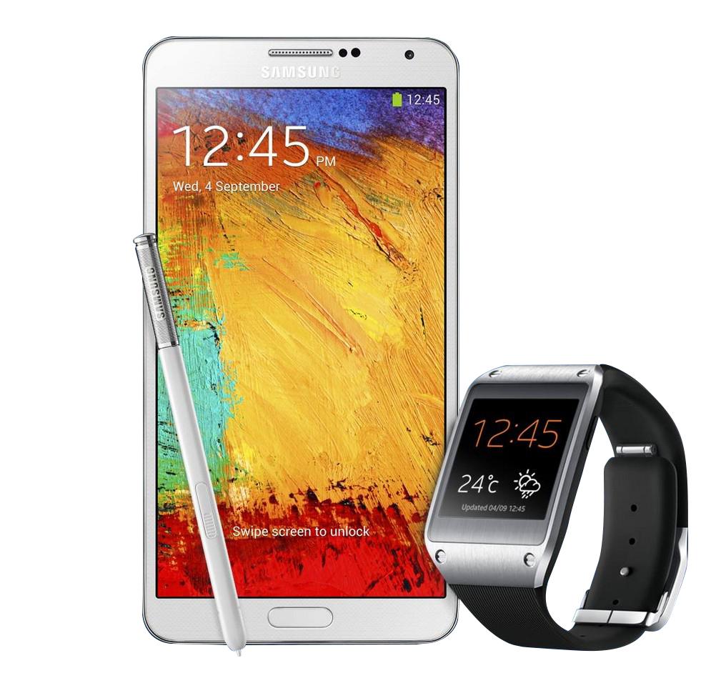 Samsung Galaxy Note 3 & Gear_1