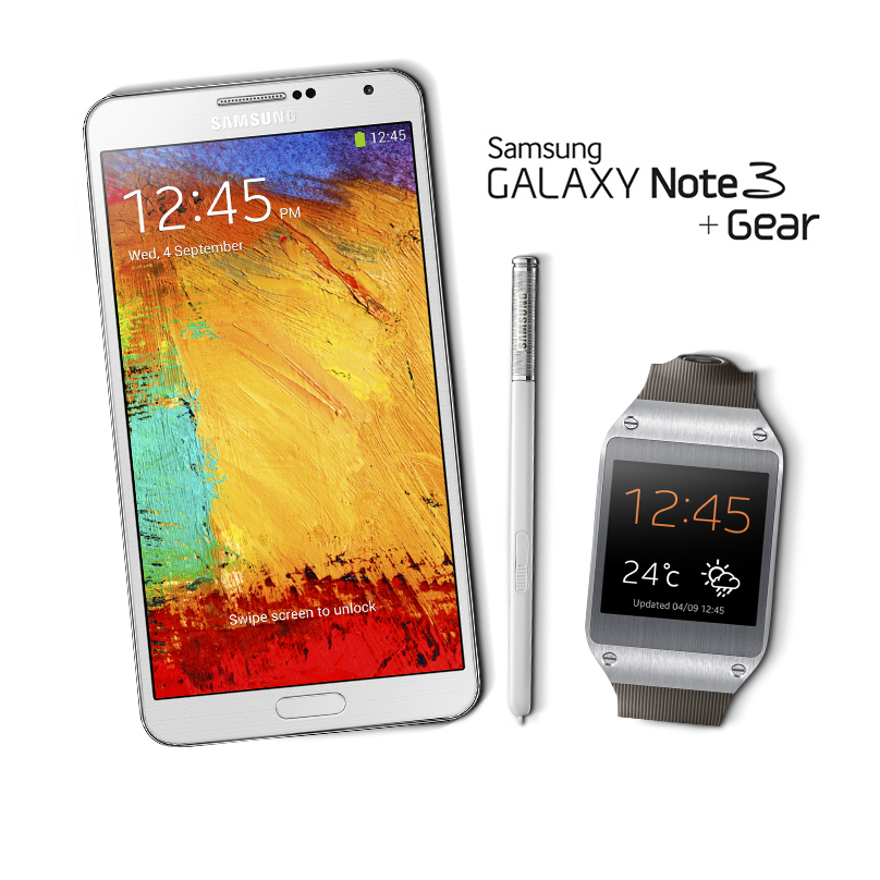Samsung Galaxy Note 3 & Gear_2