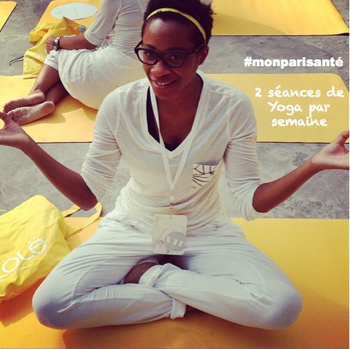 Mon pari santé : 2 séances de yoga par semaine