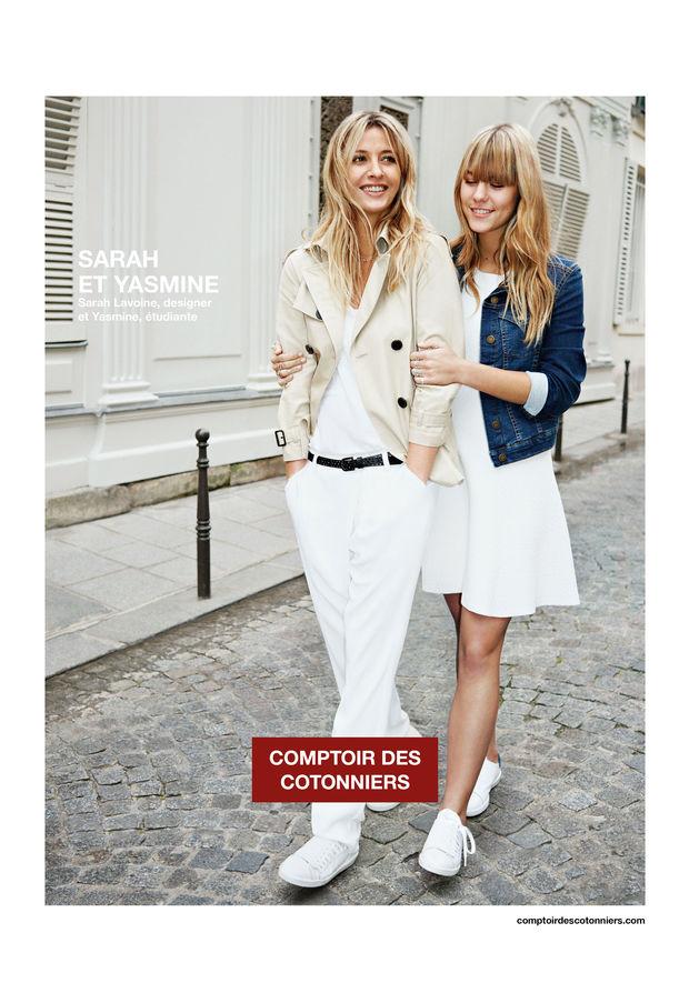 Mother and daughter lanvin et comptoir des cotonniers vivi b - Le comptoir des cotoniers ...