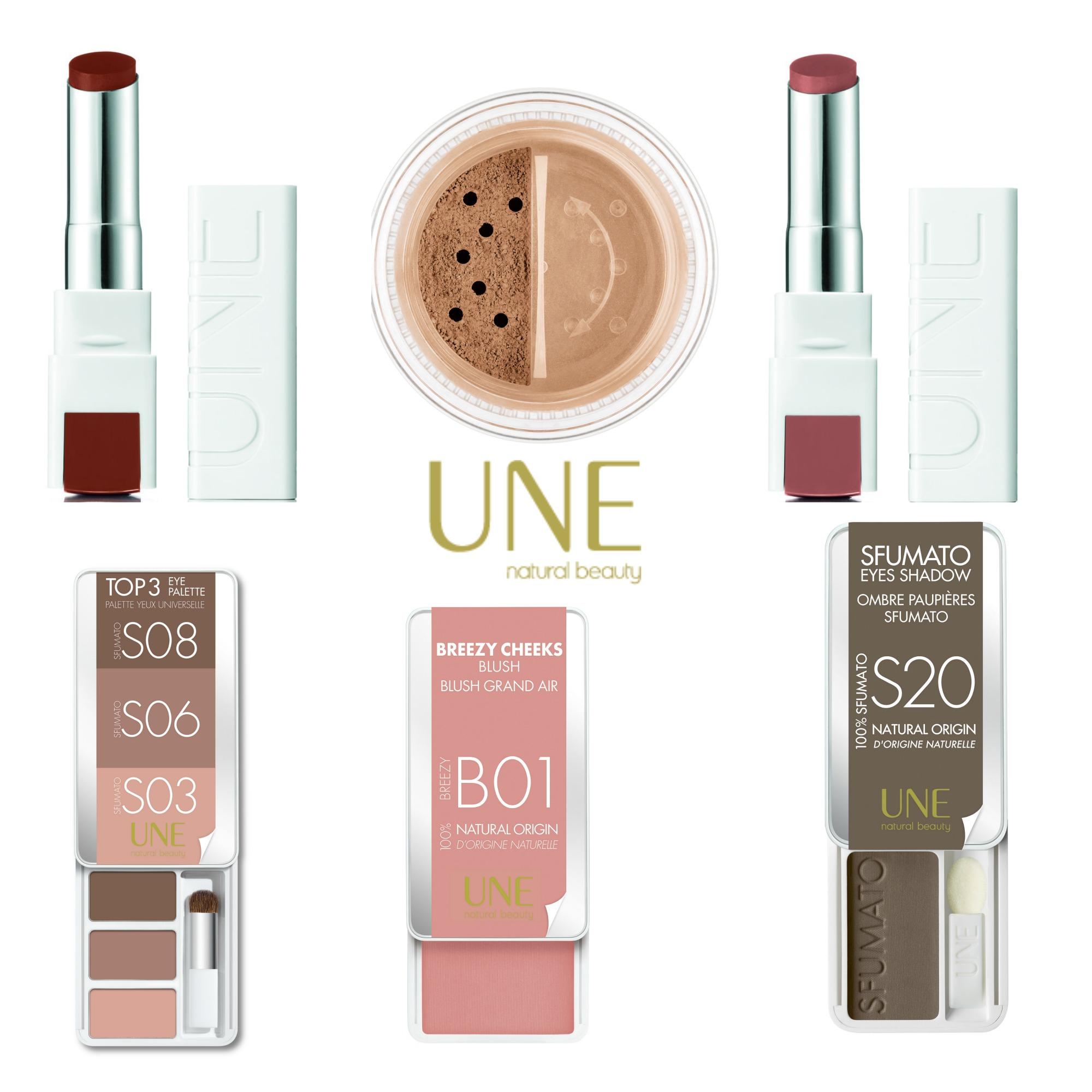 UNE Natural Beauty: la nouvelle marque de maquillage eco & bio par ..