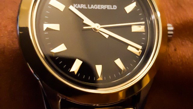 A gagner : une jolie montre Karl Lagerfeld by Cleor