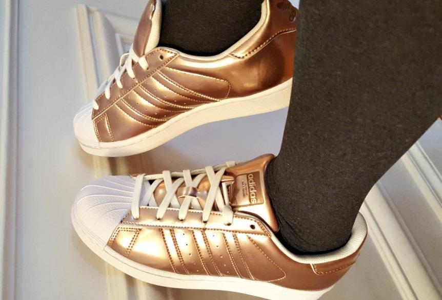 adidas superstar femme bronze