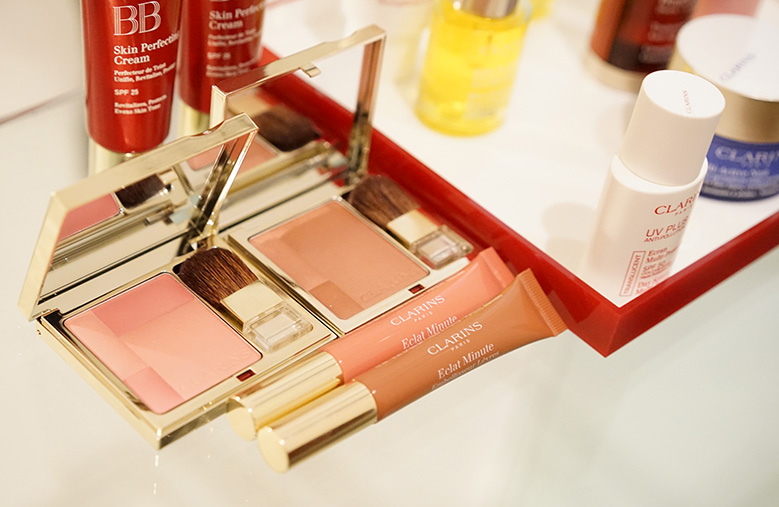 routine-beaute-clarins-londres