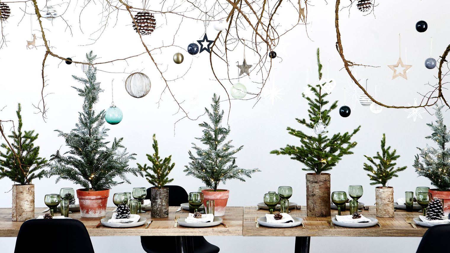 Pure color envy vivi b - Decoration de table de noel ...