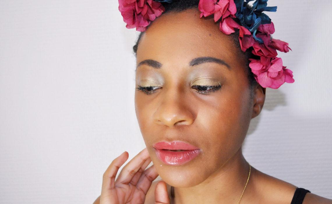 maquillage parfois il suffit de quelques fleurs dans les cheveux et d un bon fond de teint. Black Bedroom Furniture Sets. Home Design Ideas