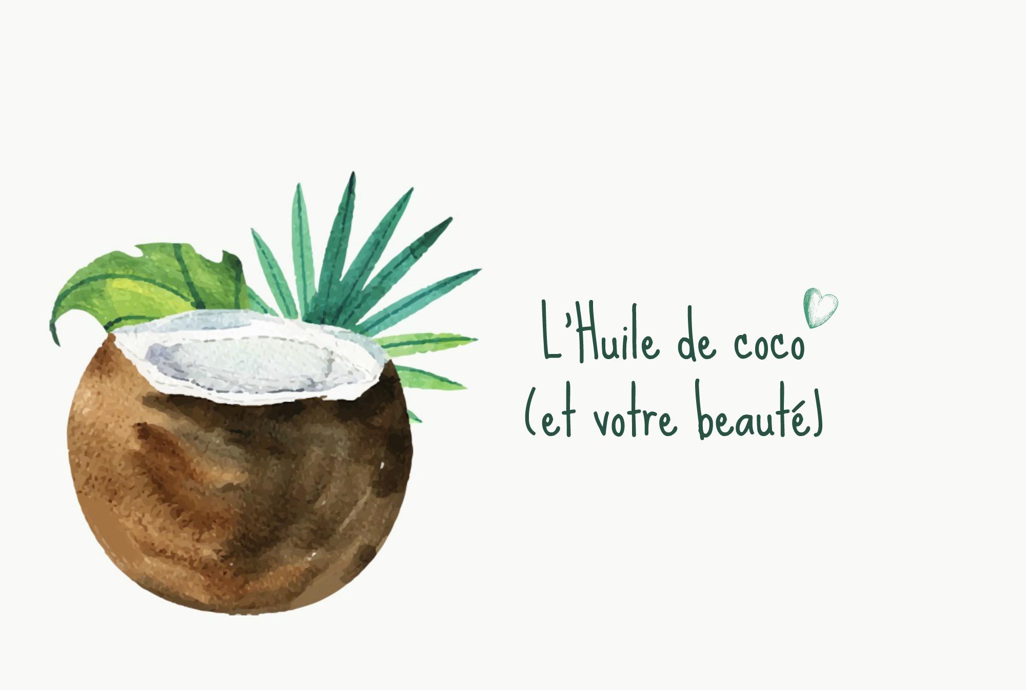 Comment utiliser l'huile de coco sur votre peau et vos cheveux ?