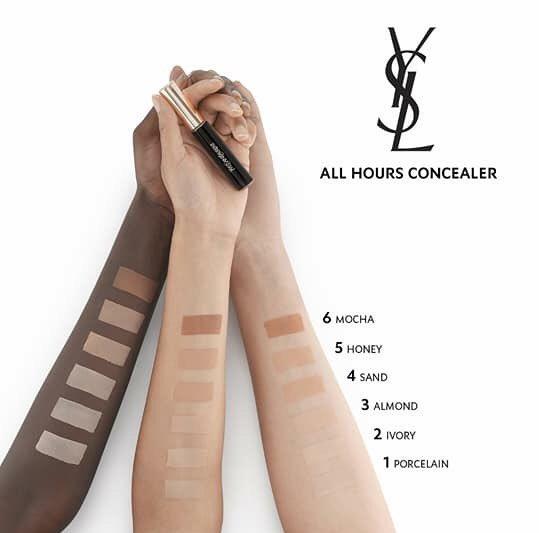 Maquillage et peau noire : Quand YSL Beauté se trompe sur ses swatchs !