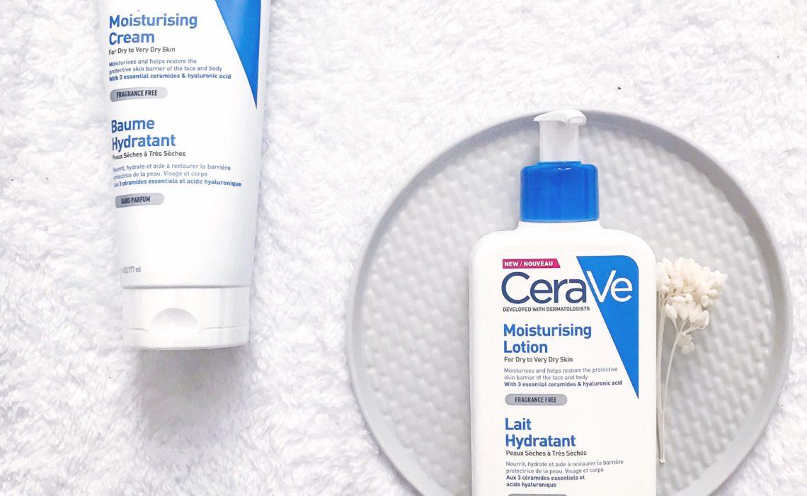 Cerave, la marque recommandée par les dermatologues
