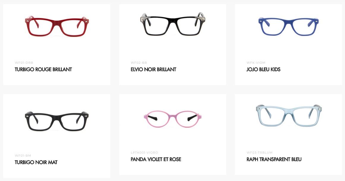 de20b382a24 Et là 1er constat   les lunettes à 10 euros sont sur un nombre restreint de  montures