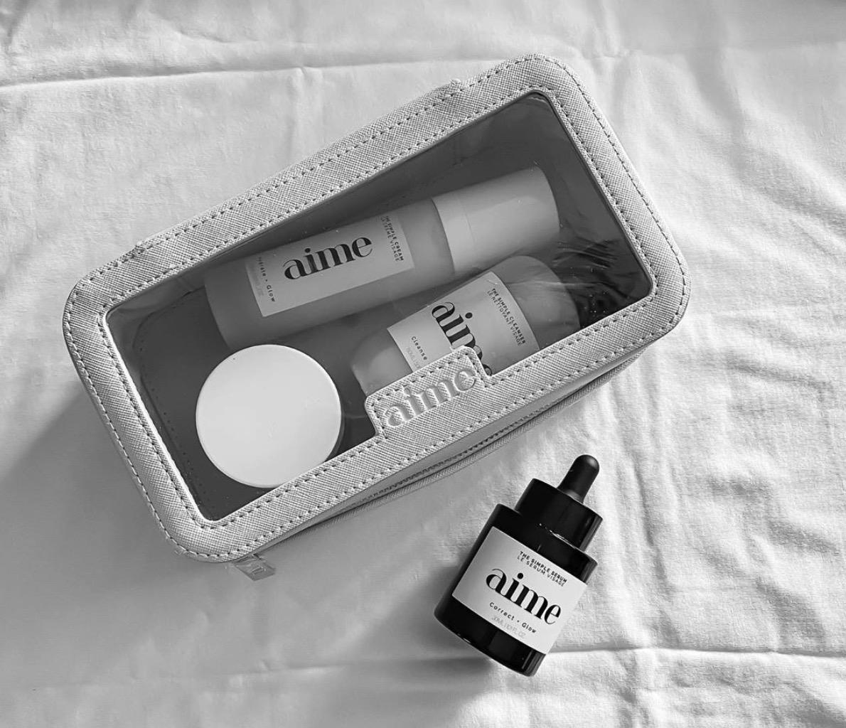 4 soins Aime Skincare sur le banc d'essai !