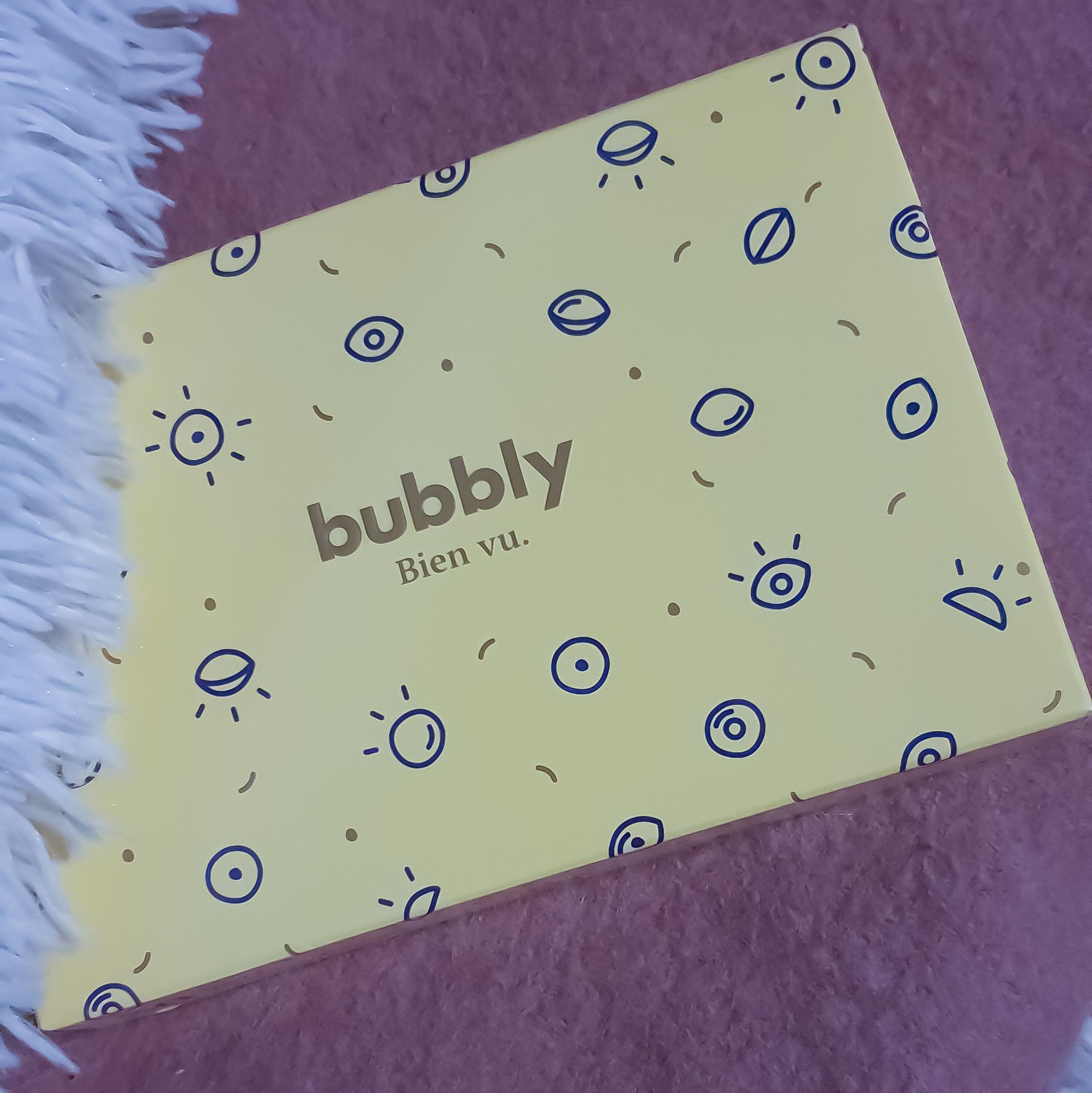 Test et avis sur les lentilles Bubbly !